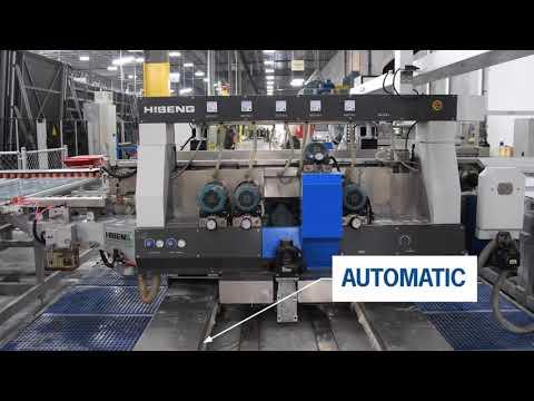 Download HISENG Glass Double Edging Productine  Machine