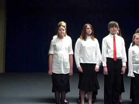 Part 4   Bethany Community Middle School Christmas Chorus 2010