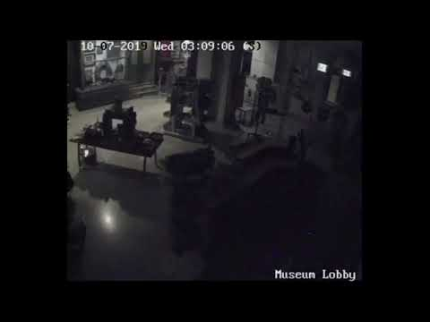 Brighton Museum & Art Gallery captures ghostly activity on CCTV camera