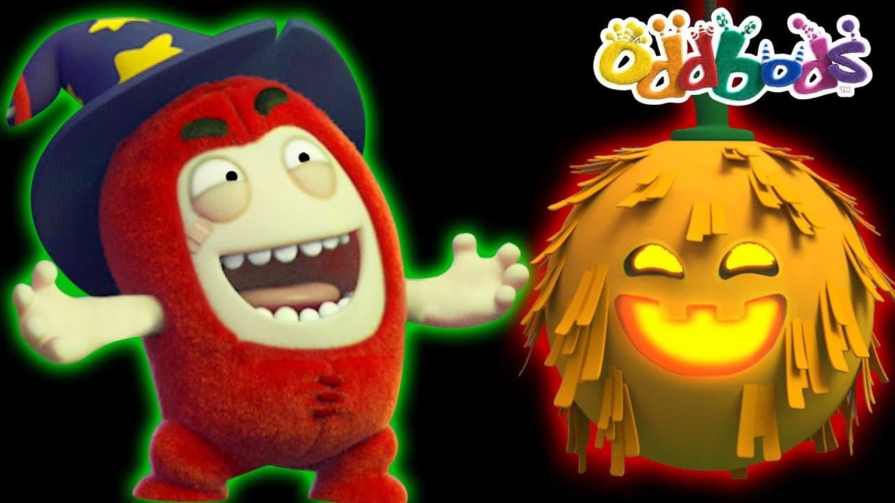 01305c3aa Oddbods | HALLOWEEN TRICKS | Funny Cartoons For Kids - YouTube