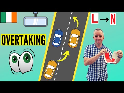 How to Overtake and Change Lanes properly