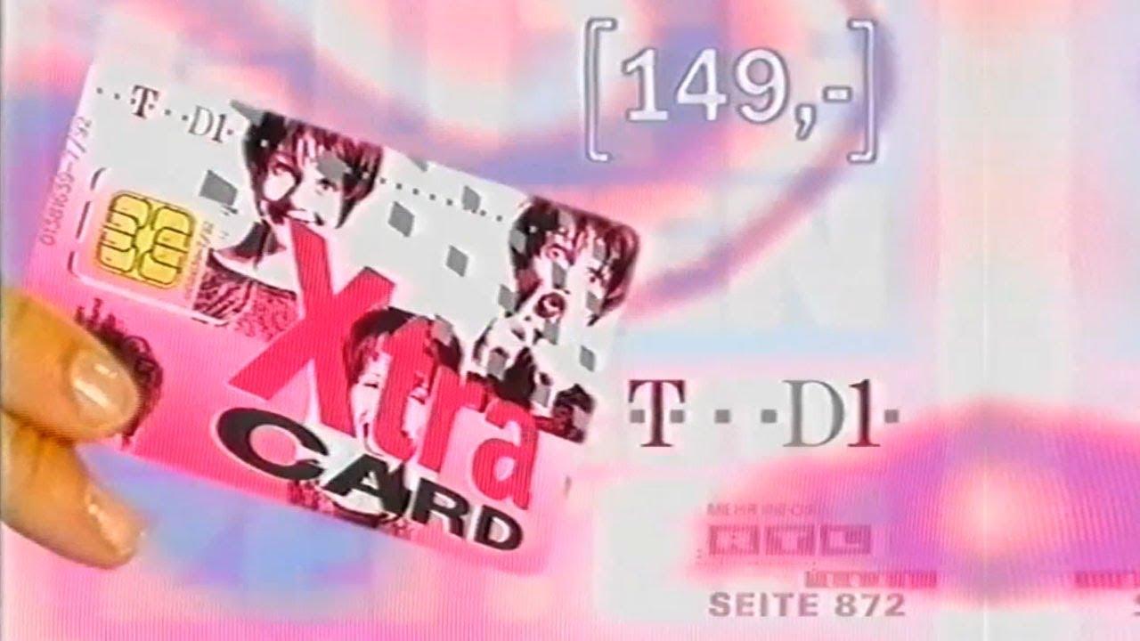 Gzsz T D1 Xtra Card Werbung 1998 Youtube