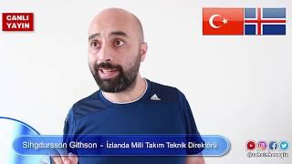 Milli Maç Sonrası İzlanda Teknik Direktörü