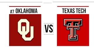 Week 10 2018 #7 Oklahoma vs Texas Tech Full Game Highlights