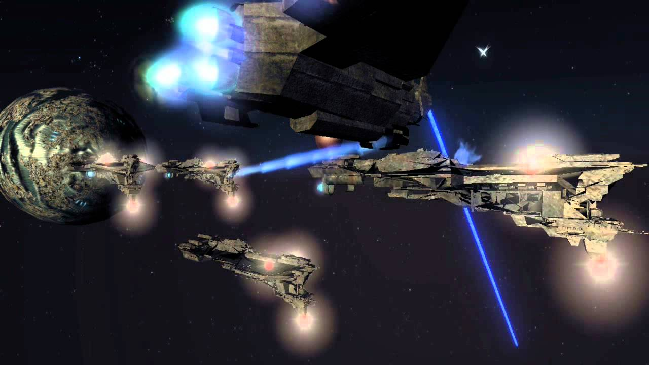 Mass Effect Animated Wallpaper Flood Ships Spreading Halo Animation Hd Youtube
