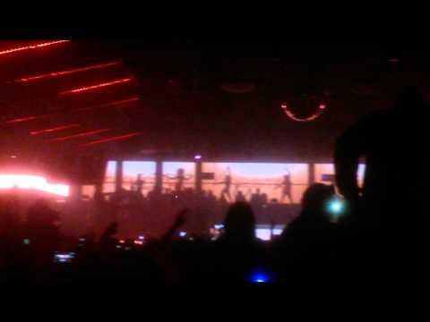 Tiesto starts his set at Create Nightclub! Hollywood, CA 1-10-15