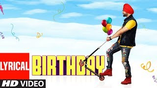 Jordan Sandhu: Birthday (Full Lyrical Song) Jassi X | Bunty Bains | Latest Punjabi Songs