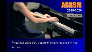 Gambar cover [青苗琴行 x 香港演藝精英協會] ABRSM Piano 2019 - 2020 Grade 5 B2 Études in A minor