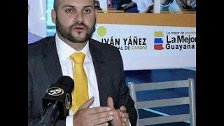 Iván Yánez, concejal del municipio Caroní