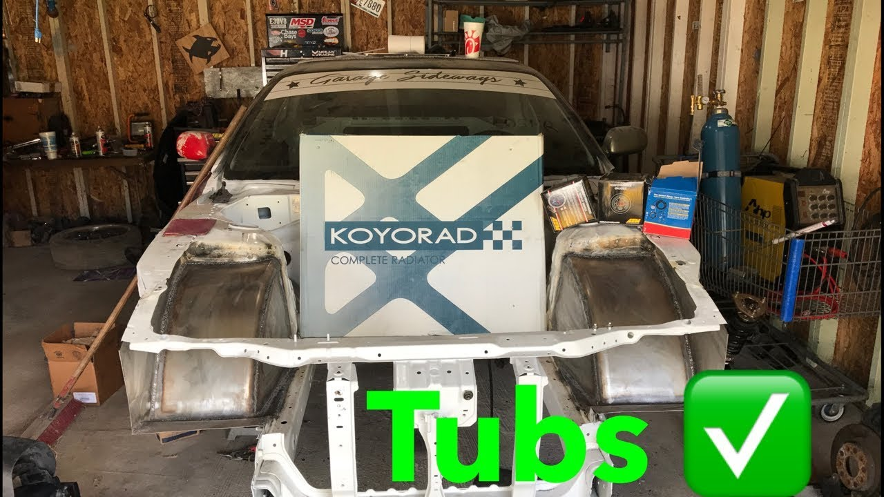 240Sx Tubs Finished! More Parts In The Mail! - YouTube