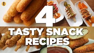 4 Tasty Snack Recipes By Food Fusion