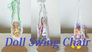 Diy Doll Swing Chair