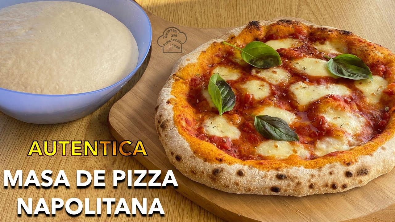 Autentica Masa de Pizza Napolitana en tu casa