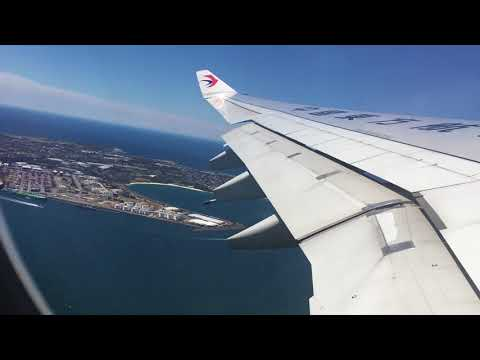China Eastern Airline Flight MU562 - Sydney to Shanghai China Take Off - 12.10.2017