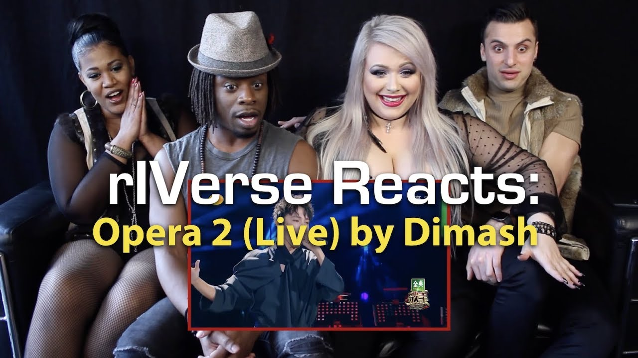 rIVerse Reacts: Opera 2 (cover) by Dimash - Live Performance Reaction