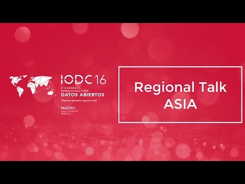 Room A - Regional Talk - Asia - Oct. 6