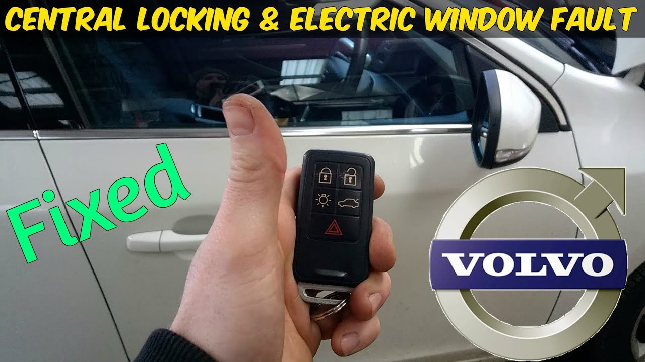 medium resolution of volvo s60 central locking electric windows not working