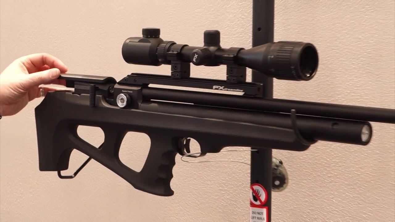 FX Dreamline PCP Airgun IWA 2018 | PCP Rifle Reviews | Gun Mart
