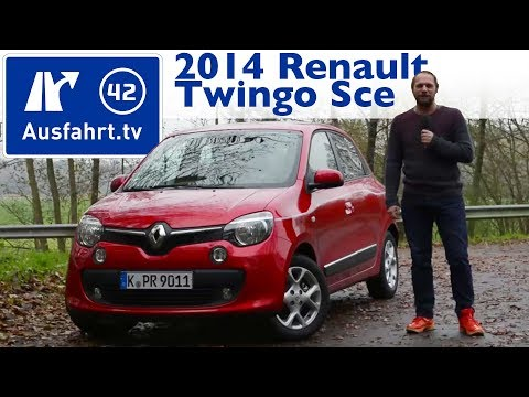 2014 Renault Twingo SCe 70 - Kaufberatung, Test, Review