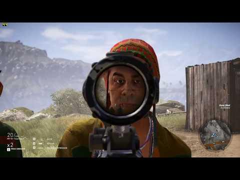 Tom Clancy's Ghost Recon Wildlands - GTX 1050 Ti 4gb + Pentium G4560 Fps Test [1080p]  