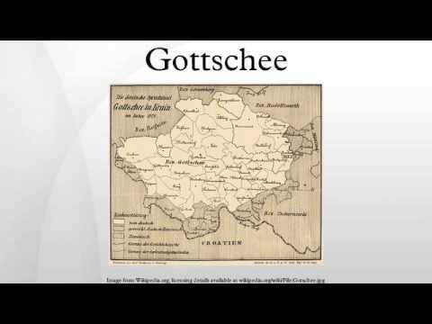 Gottschee