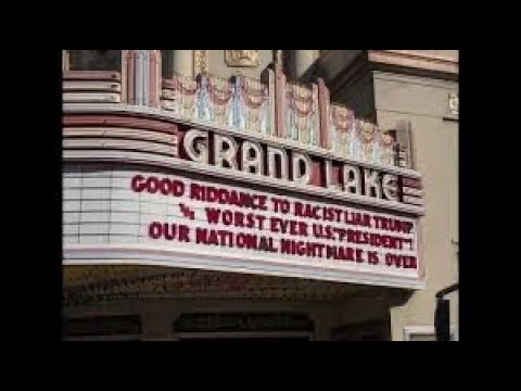 Facebook Critics Of Allen Michaan's Grand Lake Theater Marquee Messages Are Not From Oakland