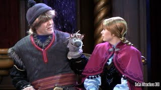 Frozen Live Stage Show at Disneyland - Fantasy Faire - Real life Frozen show