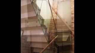 Стеклянные лестницы и ограждения из стекла Маршаг (495) 998-73-71(Ограждения из стекла, стеклянные лестницы, перила и конструкции из стекла, от разработки до монтажа Маршаг..., 2016-09-14T09:48:30.000Z)