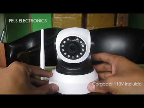 CONFIGURACION CAMARA WIFI ROBOTICA VSTARCAM ANDROID IPHONE WINDOWS COLOMBIA