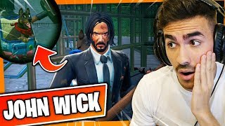 DON'T SHOOT THE DOG! JOHN WICK'S NEW SKIN AT FORTNITE!