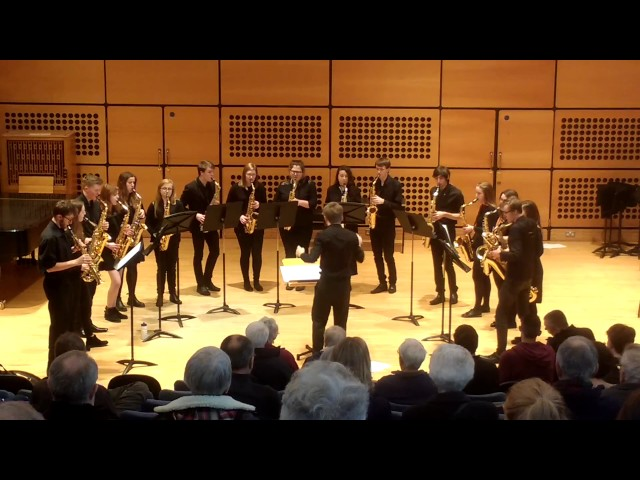 Blowsoc Saxophone Ensemble: Cantaloupe Island