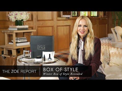Winter Box Of Style Revealed | The Zoe Report By Rachel Zoe