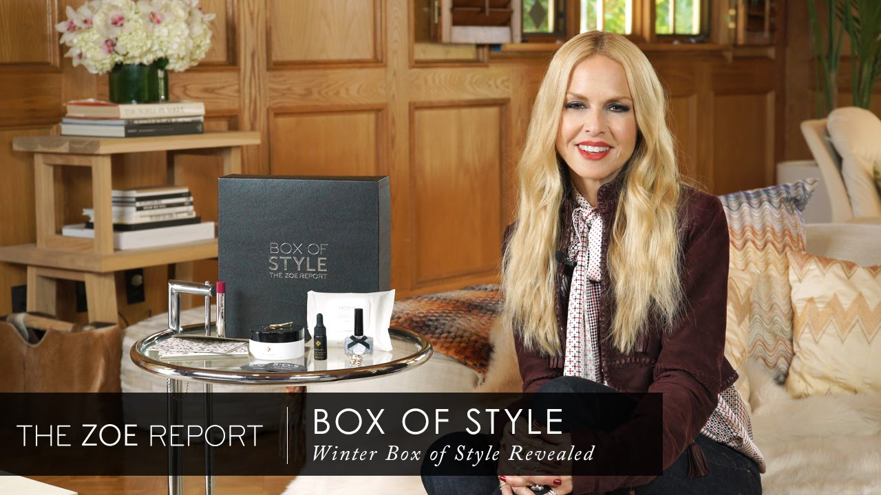 Winter box of style revealed the zoe report by rachel The zoe report