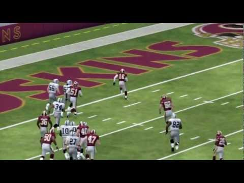 Robert Griffin III and The Redskins Slap The Raiders Madden 25