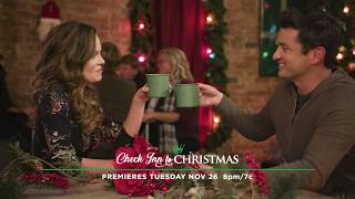 Preview - Check Inn to Christmas - Hallmark Channel movie starring Rachel Boston and Wes Brown