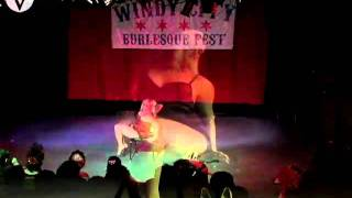 """Old-Fashioned Morphine"" by Freya West - Windy City Burlesque Fest 2011"