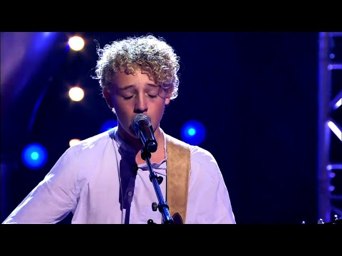 Jens – 'Wonderwall' | Blind Audition | The Voice Kids | VTM