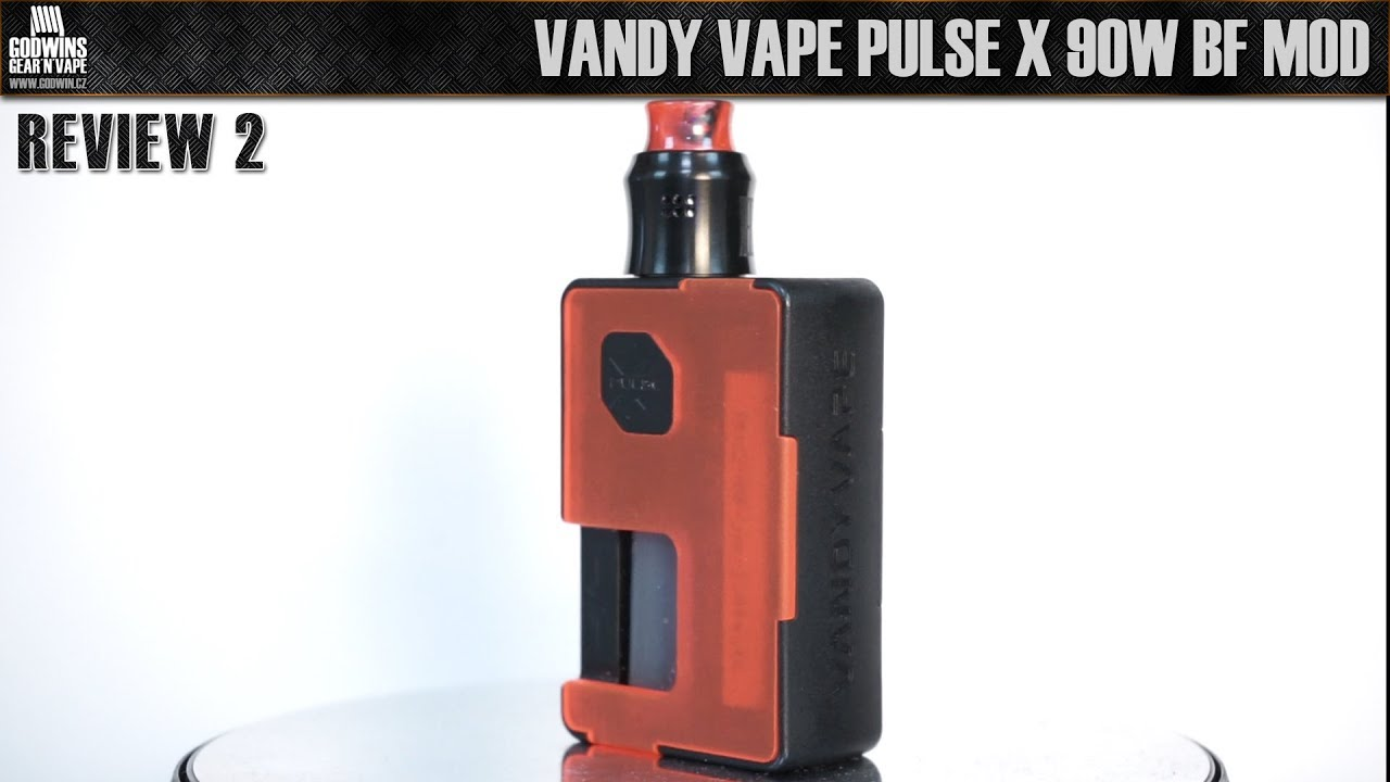 Elektronická cigareta / Mod - Vandy Vape Pulse X 90W BF - Recenze 2 (CZ)