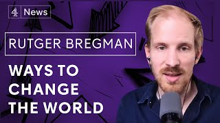 Rutger Bregman on elites, survival of the friendliest, rethinking human history