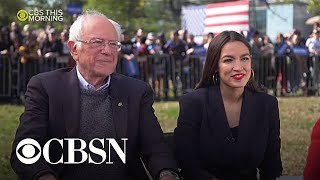 "AOC endorsement is ""very significant,"" Sanders says"