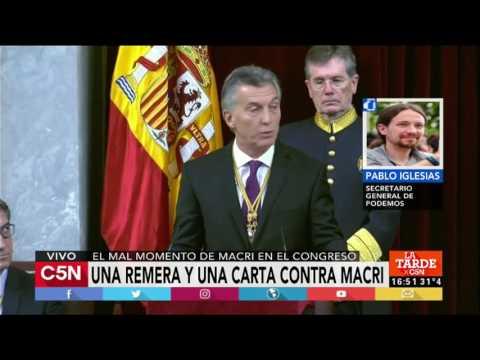 C5N - La Tarde: Entrevista al Secretario General de Podemos de España