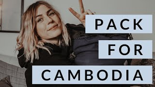 PACKING LIST FOR CAMBODIA | WHAT TO BRING TO CAMBODIA