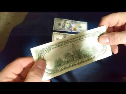 When Is A $100 Dollar Bill Considered Vintage?  (Just A Fun, Memory Lane Video!)