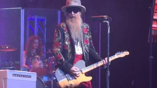 """""""Ten Foot Pole"""" live Billy Gibbons & the BFGs at Arcada in St Charles 1-29-2016"""