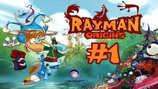 Прохождение Игры Rayman Origins - Старики Садисты #1