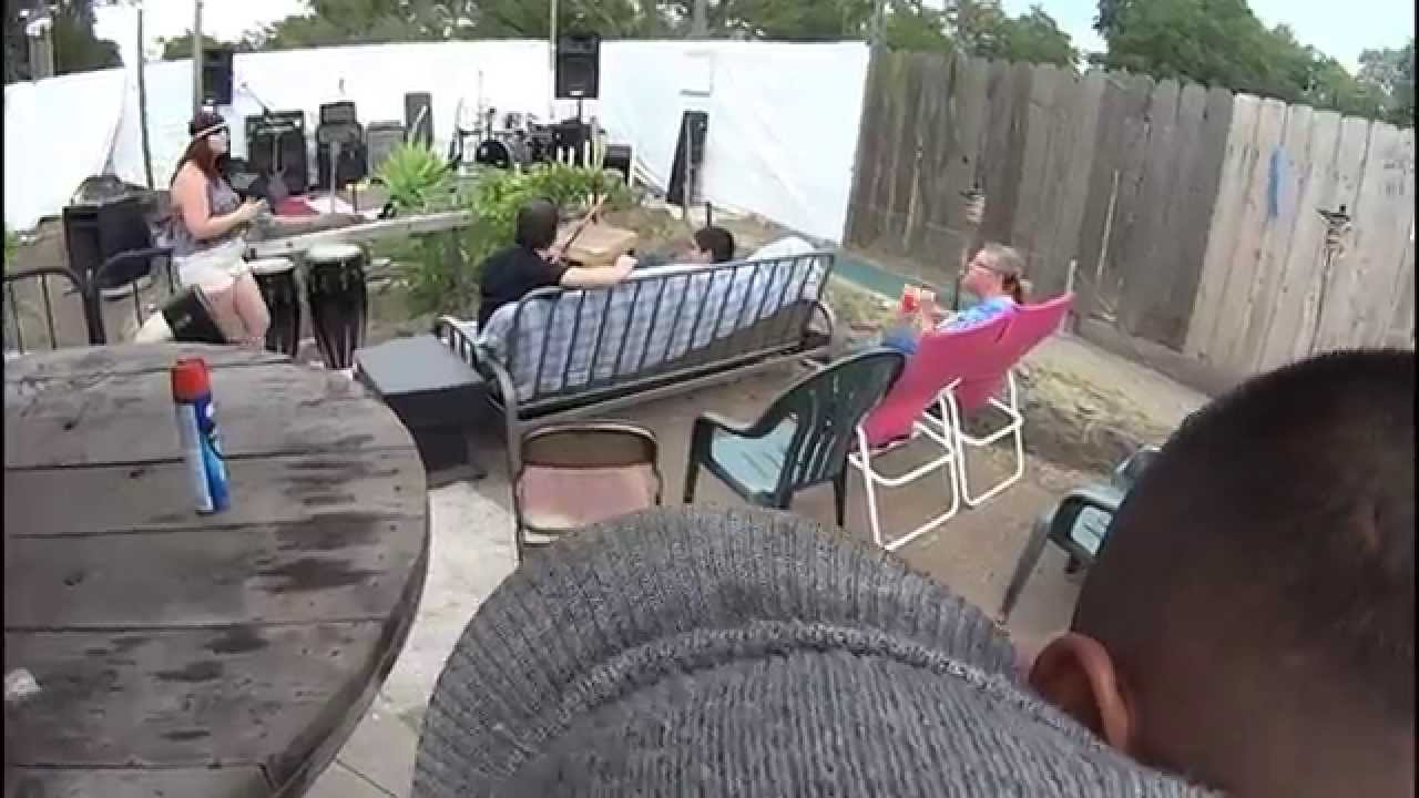 rooted entertainment club backyard style luau youtube