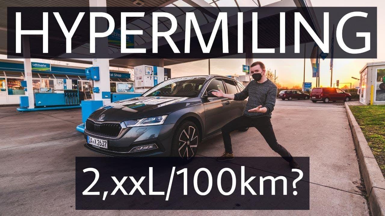 Unter 3l Verbrauch im Skoda Octavia TDI? Hypermiling Rekord!