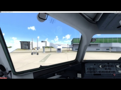 TDFi 717 EHAM/EGSS Approach and Holding Test