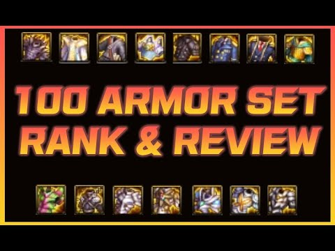 [DFO] Review of all LV100 Armor sets and their Ranks!