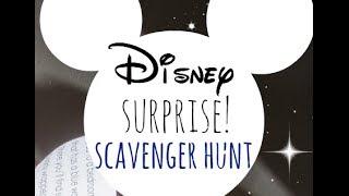 disney surprise scavenger hunt | family fun | teachmama.com